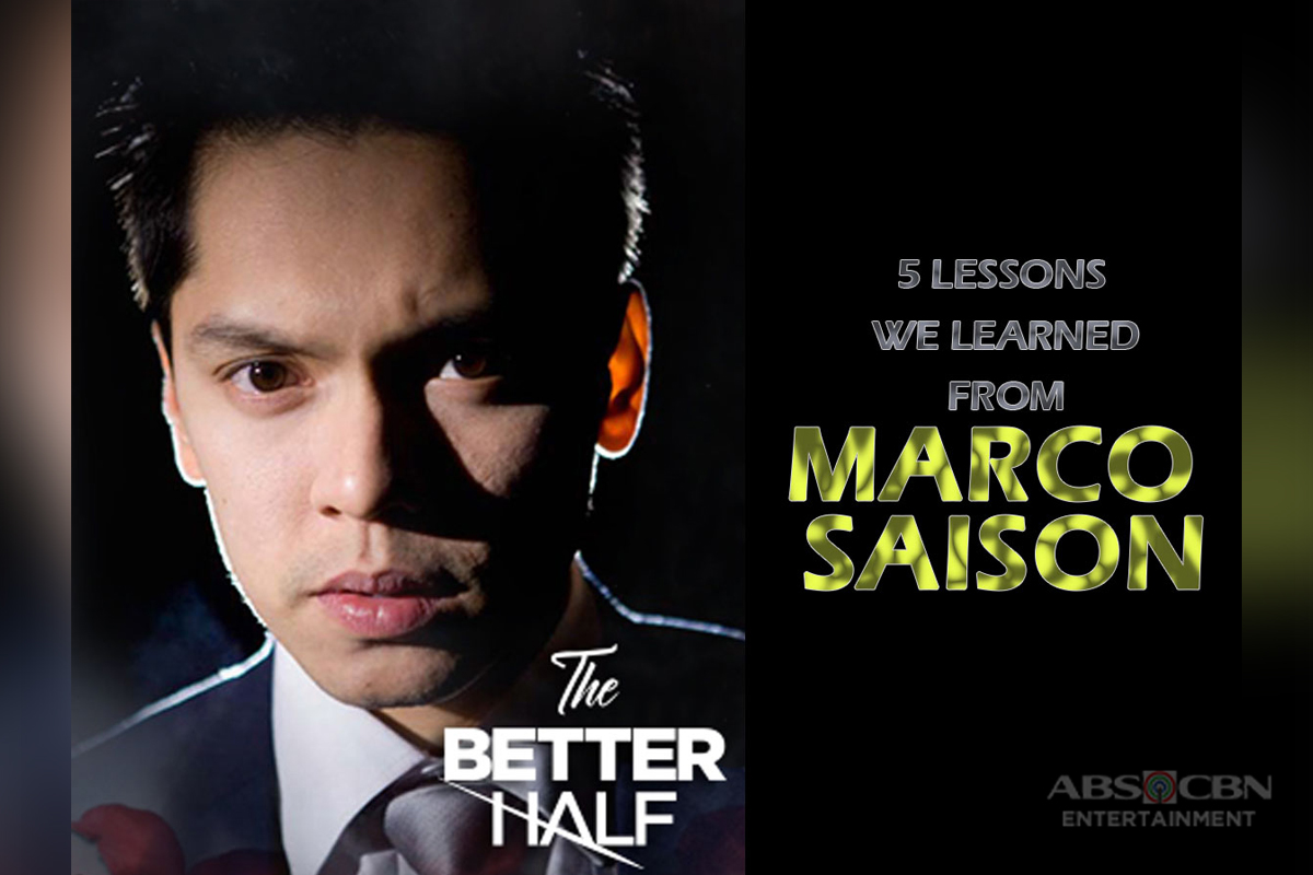 "5 admirable things about Marco on ""The Better Half"""
