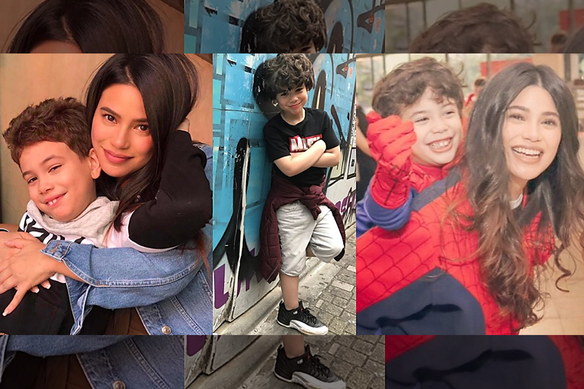 48 Photos of Denise Laurel that proved she found her 'better half'