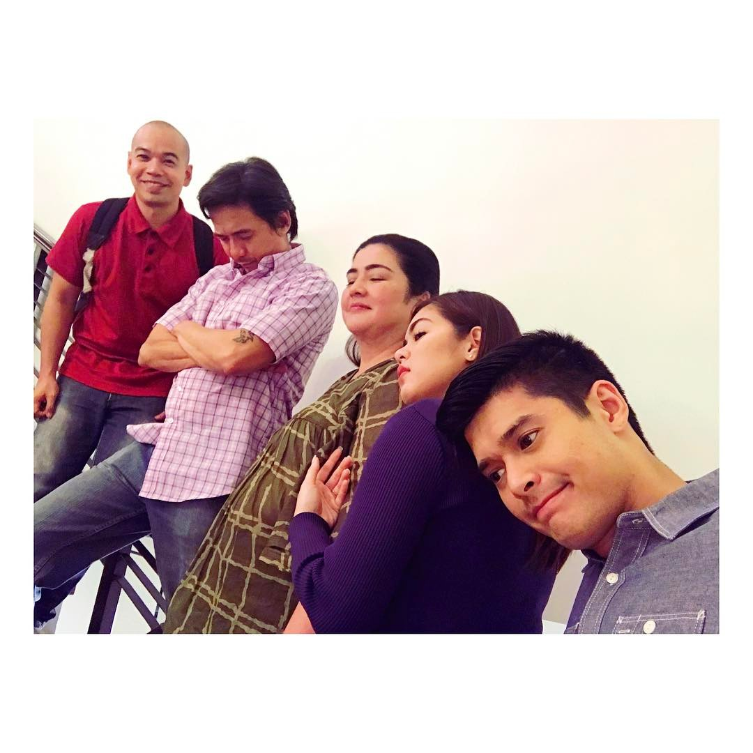 BEHIND-THE-SCENES: Masayang bonding ng pamilya Villalobos at Cabrera