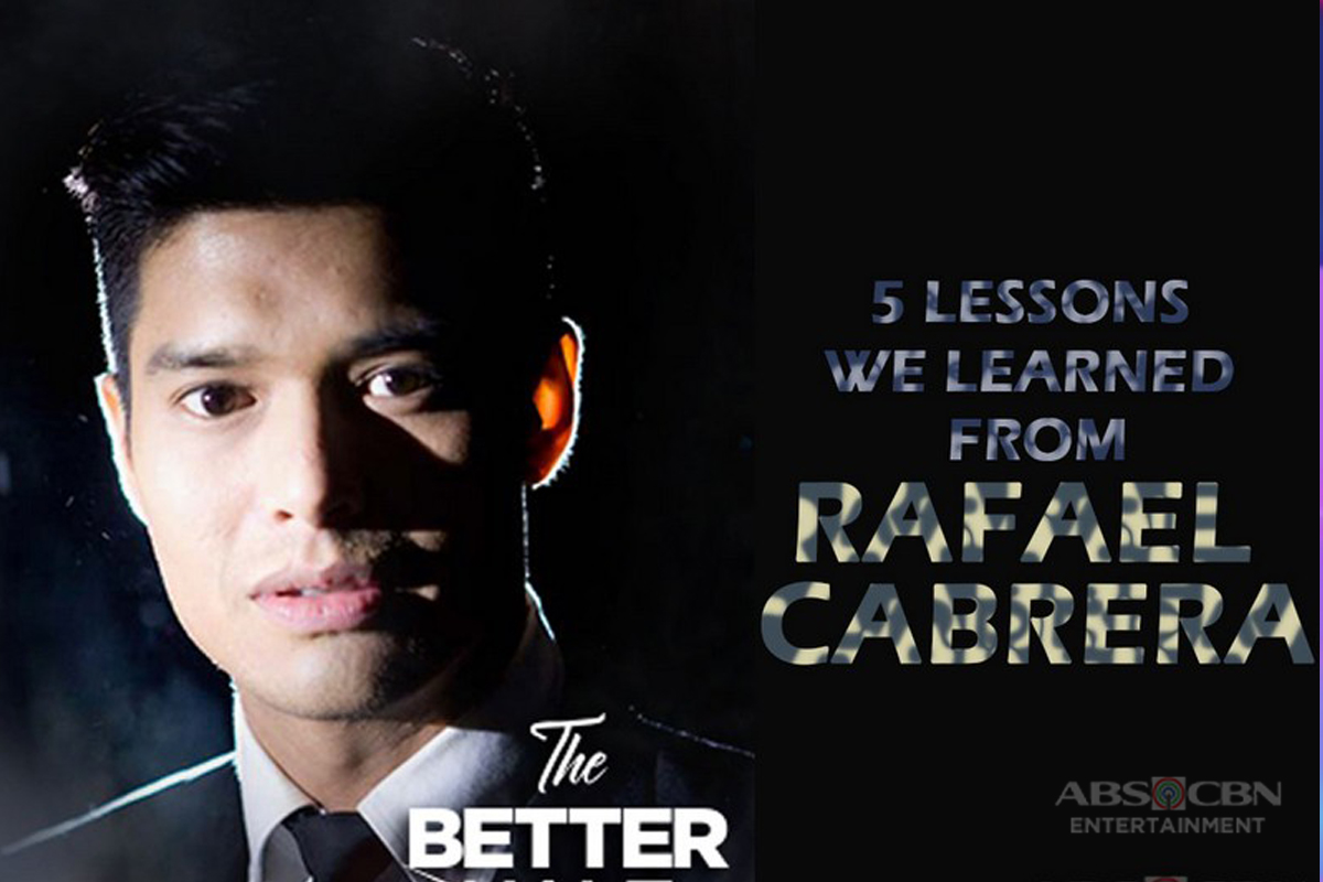 5 Lessons we can learn from Rafael Cabrera's character on The Better Half