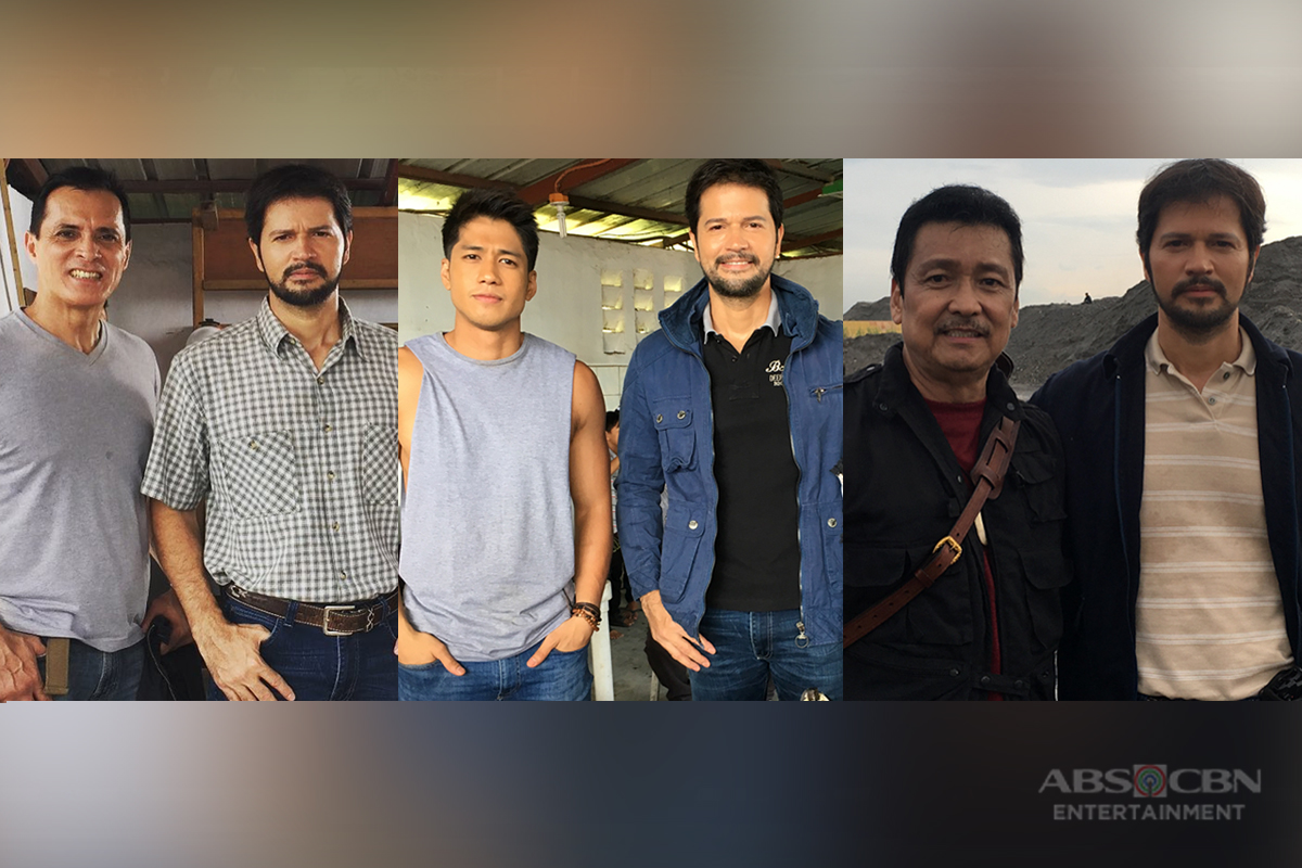 On the set of FPJ's Ang Probinsyano: Jestoni Alarcon as Javier Enriquez